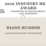 Career Coaching Industry Hero Award